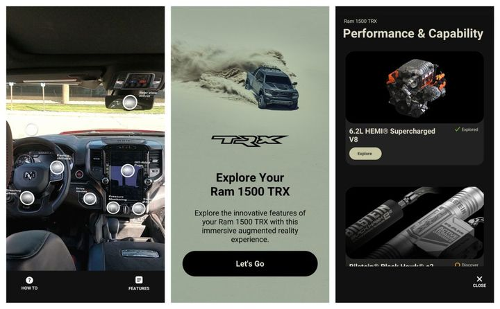 Through the Know & Go App, driver's can view details and specifications about their vehicle through use of a mobile app.  - Photo: Ram Truck