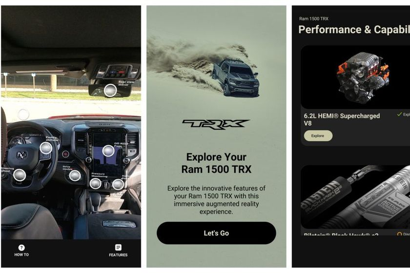 Ram 1500 TRX First to Feature 'Know & Go' Mobile App