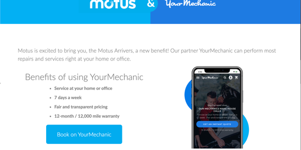 Through the Motus cloud-based platform and app, customers now have direct access to hundreds of...