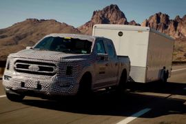Ford Torture Tests F-150 Hybrid Pickup