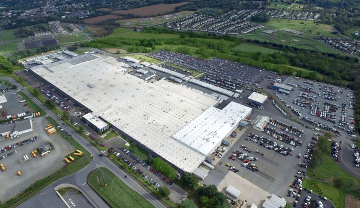 "Mack Trucks has achieved a major milestone at its Lehigh Valley Operations (LVO) in Macungie, Pennsylvania, with the completion of an $84 million renovation dubbed project ""Reborn."" -"