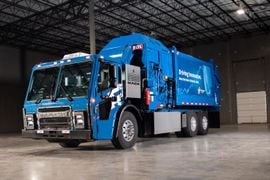 Mack LR Electric Takes on Waste, Refuse in Trials