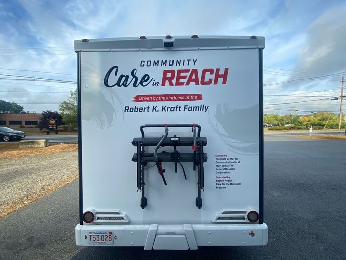 Community Care in Reach is a licensed satellite clinic of Boston Health Care for the Homeless Program. - Photo: Winnebago