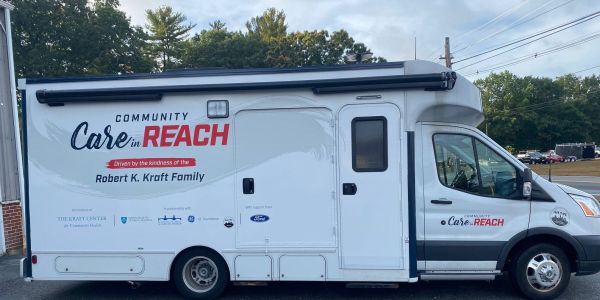 Community Care in Reach was built by Winnebago Industries Specialty Vehicles using their Class C...