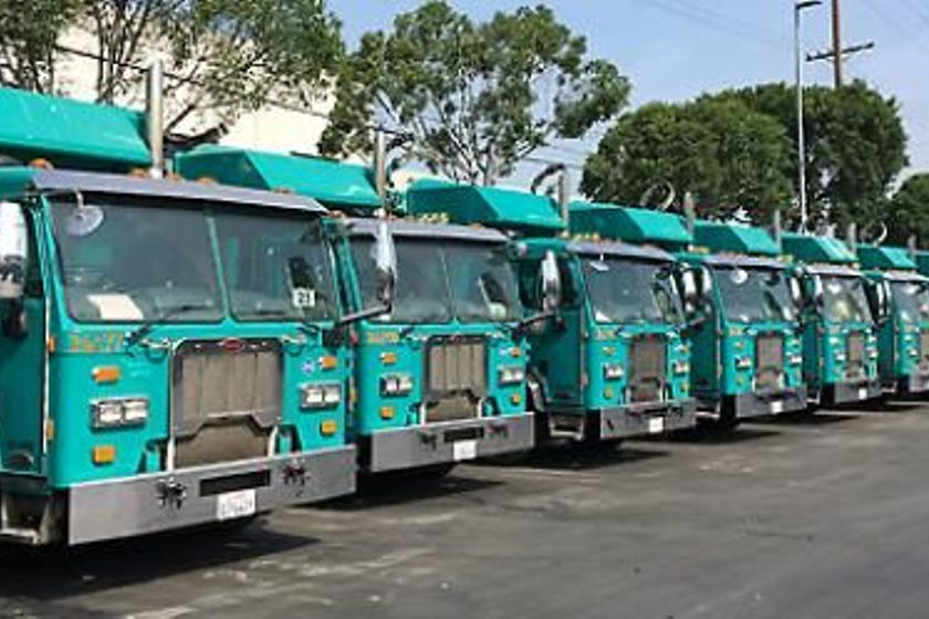 SoCalGas operates a fleet of natural gas trucks.