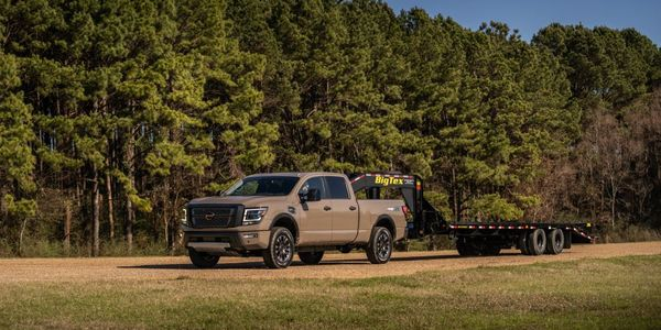 The 2021 Nissan Titan XD is one of the 10 models that will feature Nissan's Safety Sheild 360...