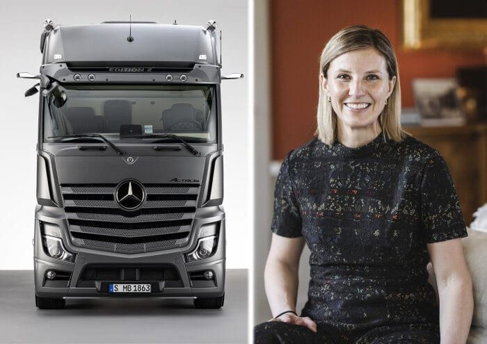 Rådström most recently has been responsible for sales and marketing at Scania as a member of the Executive Board. - Photo: Mercedes-Benz Trucks