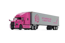 Mack Trucks Donates to Cancer Foundation