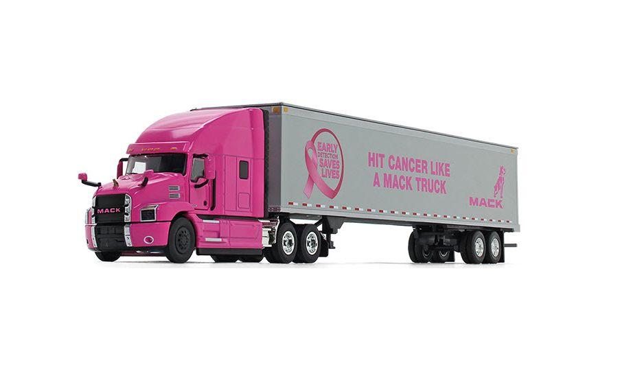 Mack Trucks Donates to Cancer Foundation