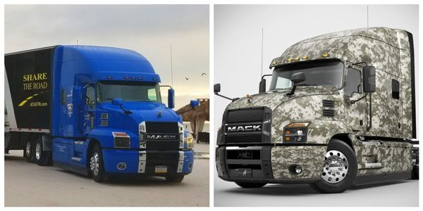 Mack donated Mack Anthem 70-inch Stand Up Sleeper models outfitted with all of the latest safety...