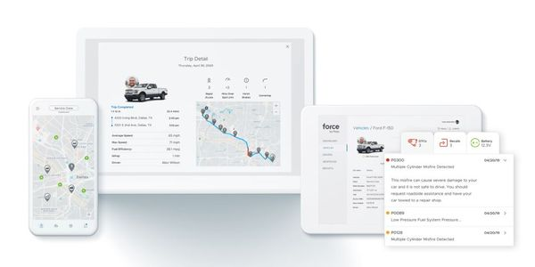 Force by Mojio gives small business owners mobile-friendly access to real-time vehicle data and...