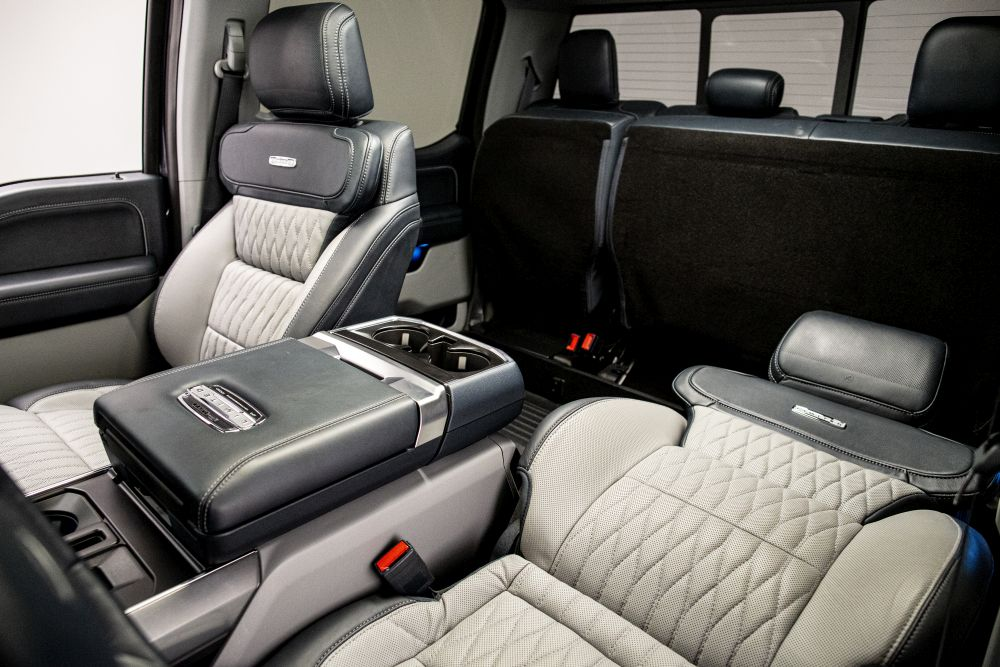 Ford Max Recline Seats Add to Worksite Comfort