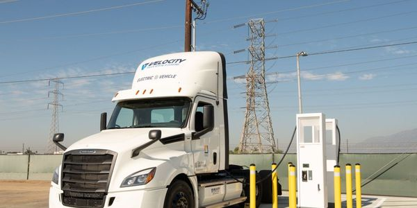 Freightliner's CX Fleet is comprised of eight early series development trucks meant to test the...