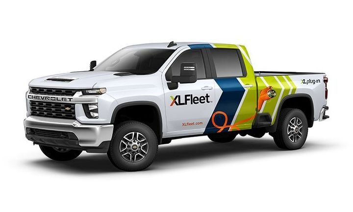 The platform is expected to begin shipping on select configurations of the Chevrolet and GMC Silverado / Sierra 2500 HD and 3500 HD pickup trucks in the first quarter of 2021. - Photo: XL Fleet