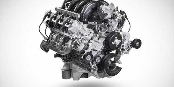 The 7.3L engine is paired with the 10-speed heavy-duty TorqShift transmission on Ford Super Duty...