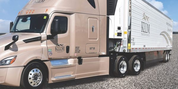 KLLM's newest 1,400 53-foot insulated trailers are refrigerated by Carrier Transicold units...