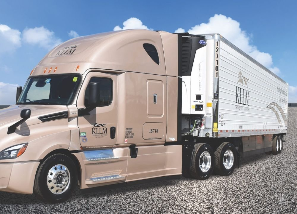 KLLM Adds Connected & Solar Carrier Transicold Trailers to Fleet