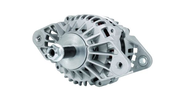 The LoadHandler L24 12V 160-amp brushed alternator.