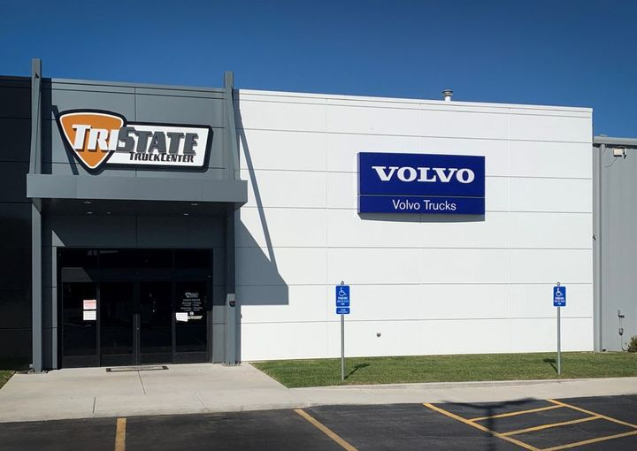 The now 35,000 square-foot Springfield facility is one of nine full-service Tri-State Truck Center locations across Tennessee, Missouri, Arkansas, and Mississippi. - Photo: Volvo Trucks