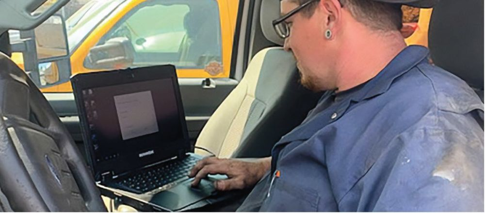 Durabook Helps Keep Trucks Repairs on Schedule