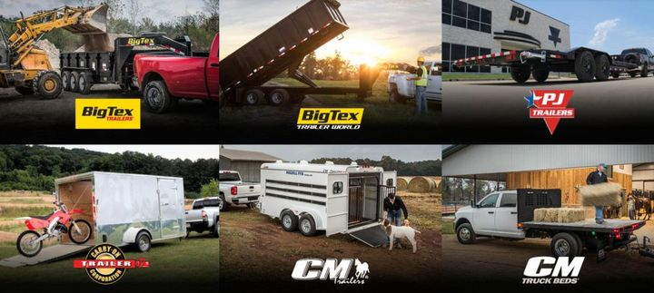 ATW offers a large number of brand options including Big Tex Trailers and CM Truck Beds. - Photo: ATW
