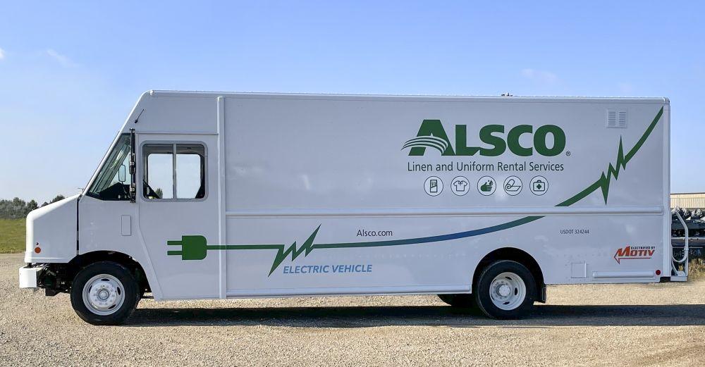 Alsco Electrifies Fleet with Motiv