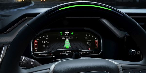 The 2022 Sierra 1500 Denali will feature hands-free driver assistance system with the...