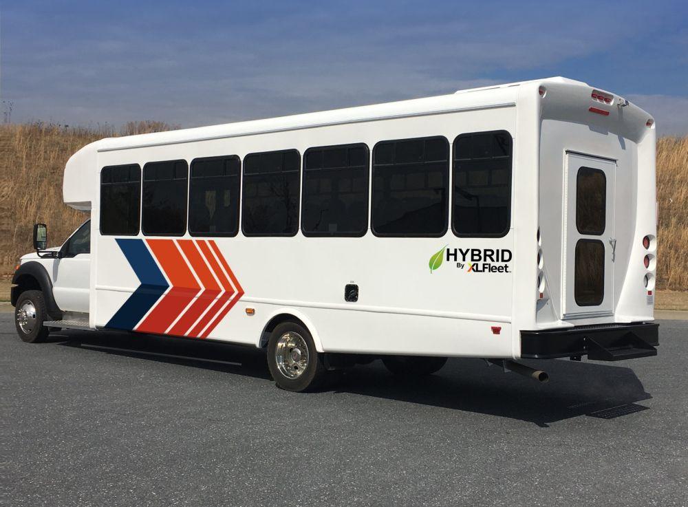 XL Fleet Offers Hybrid-Electric Powertrain for Ford F-550