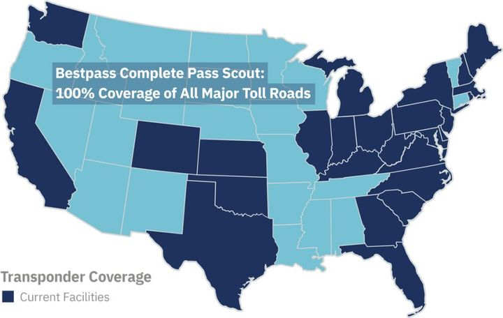 Bestpass has more than 10,000 customers in its growing transponder network. - Photo: Bestpass