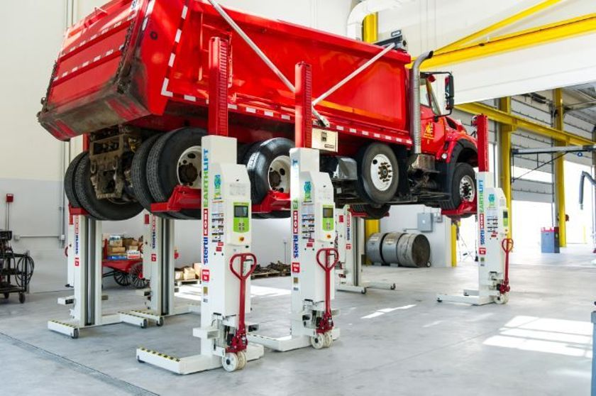 Stertil-Koni Mobile Column Lifts, which utilize dependable hydraulic technology, are available...