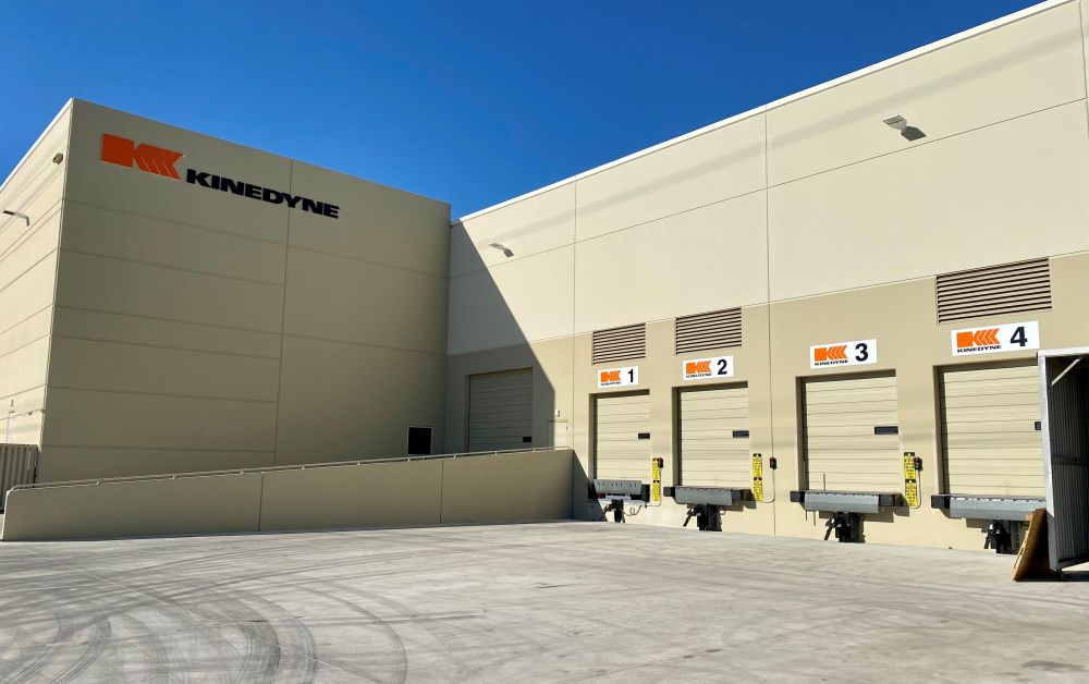 Kinedyne Relocates West Coast Distribution Center