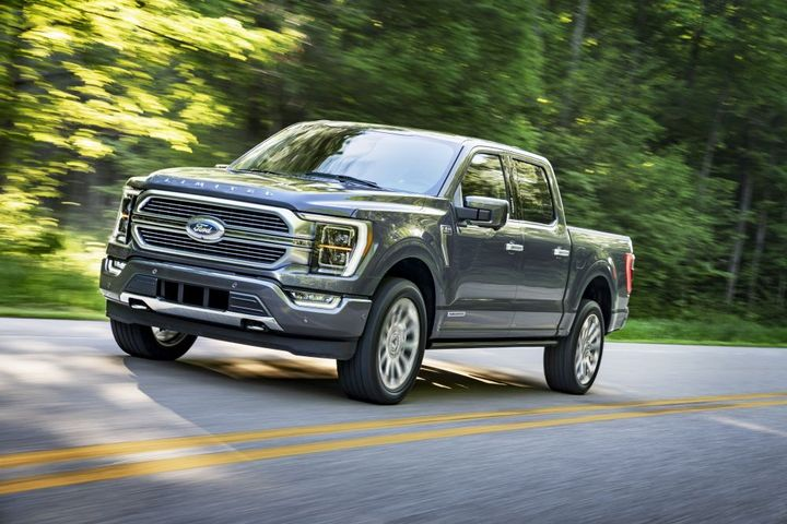 Fourth quarter retail sales adjusted for F-150's transition were up 4%. - Photo: Ford