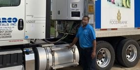 Carrier Transicold Gifts Trailer Reefer Unit to Food Bank