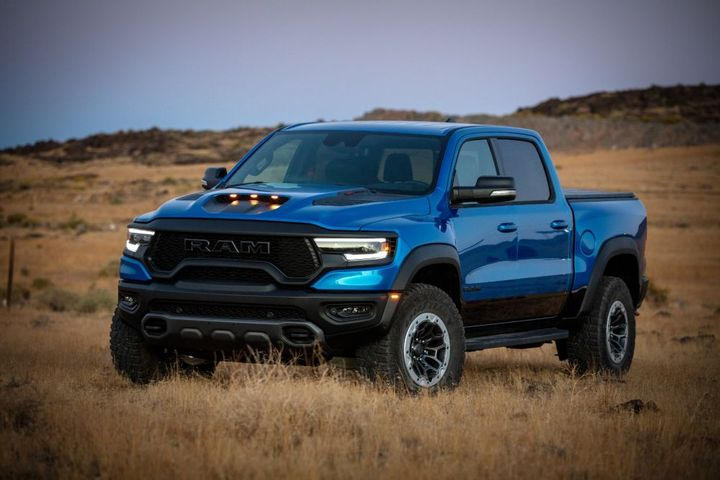 The Ram 1500 TRX VIN #001 being auctioned at Barrett-Jackson Scottsdale is one of 702 Ram 1500 TRX Launch Edition models. - Photo: Ram Truck