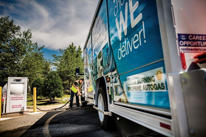 """Fifteen states and Washington, D.C., have proposed full electrification of medium- and heavy-duty trucks by 2050 with a target of 30% """"zero-emission"""" vehicle sales by 2030. - Photo: PERC"""