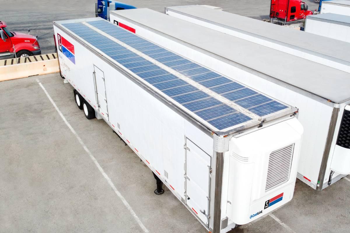 PLM Fleet Distributes Zero-Emission Refrigerated Trailers in U.S.