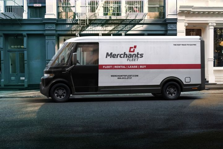 Merchants Fleet expects BrightDrop EV600s to enter its clients' fleets starting in early 2023. - Photo: Merchants Fleet