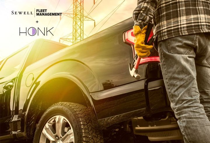 Sewell Fleet Management has selected Honk to manage roadside assistance. - Photo: Honk