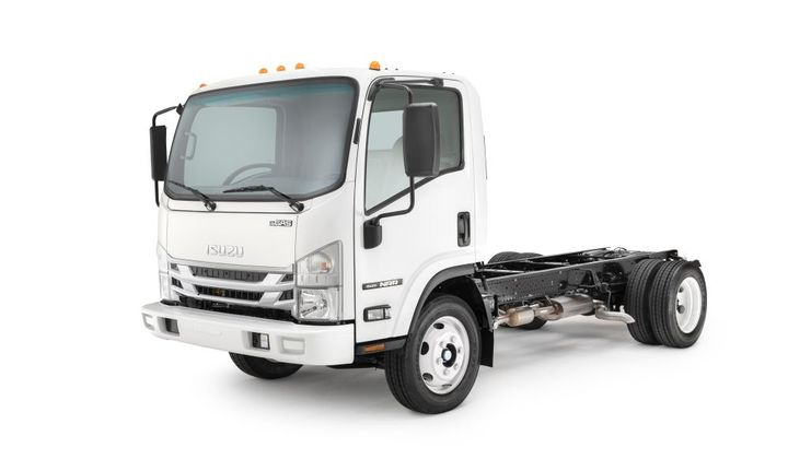 The NRR will be the first 19,500-pound GVWR low cab forward truck in the industry to offer a gasoline engine option, according to Isuzu. - Photo: Isuzu Commercial Truck of America, Inc.