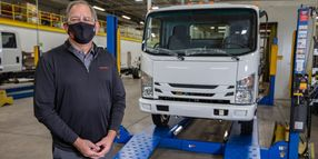 Isuzu Starts Production of Class 5 Gas-Powered Trucks