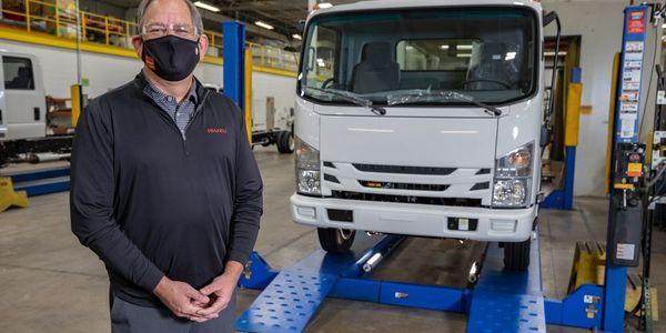 Shaun Skinner, president, Isuzu Commercial Truck of America and Isuzu Commercial Truck of...