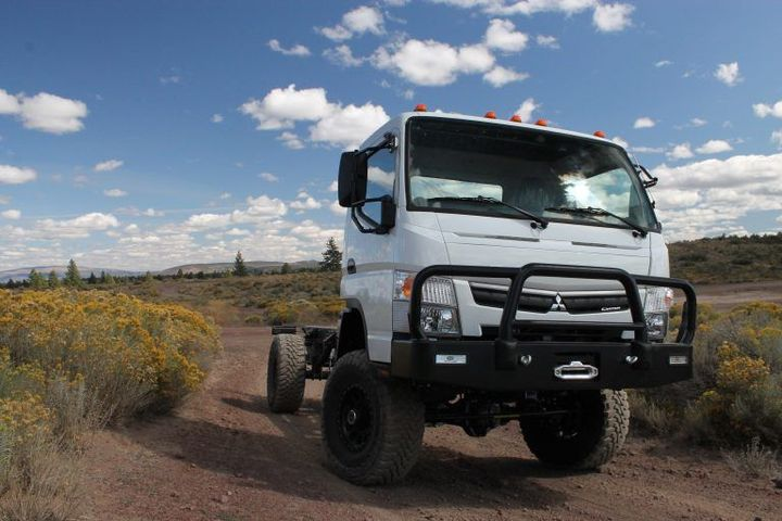 CORE's custom-built chassis is designed to withstand an unparalleled range of environments and situations. - Photo: CORE Vehicles