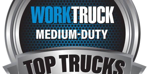 Work Truck Names 'Top 5 Trucks in Medium-Duty'