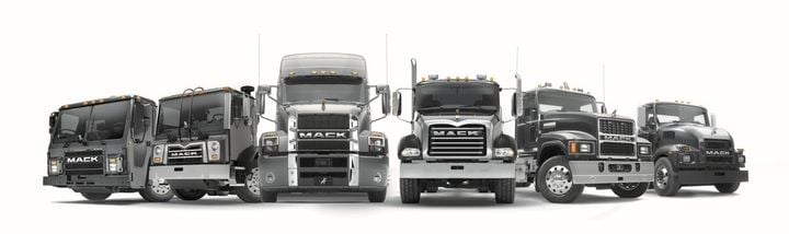 Mack is focused on uptime support with Geotab Go, Mack One Call and Mack ASIST, and Mack's Uptime Center for planned an unplanned service events. - Photo: Mack Trucks