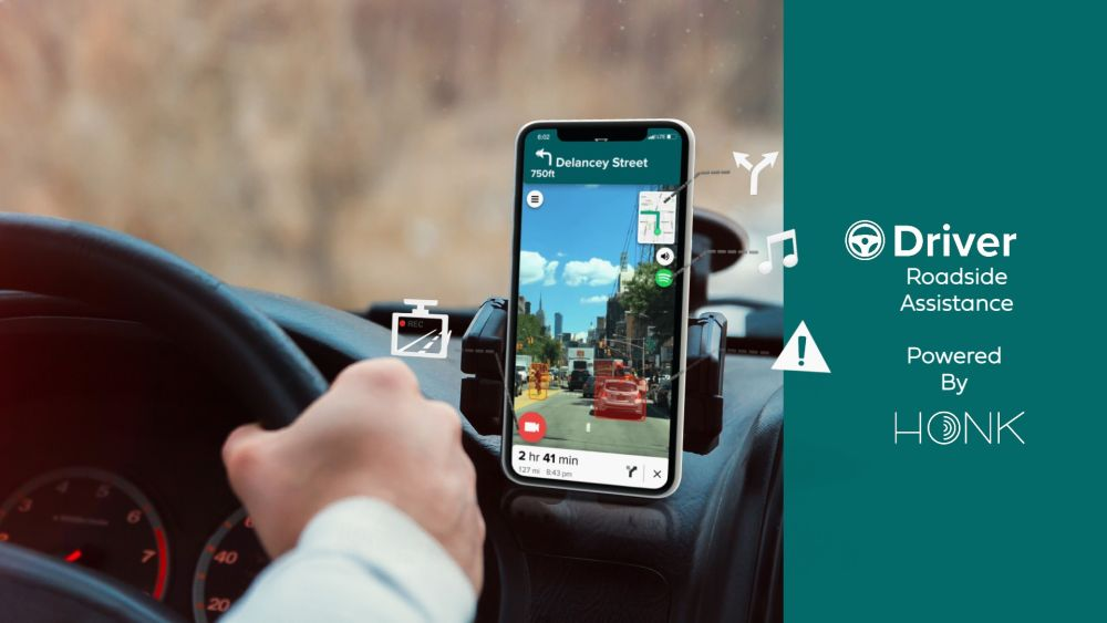 Driver Technologies Chooses Honk for Roadside Assistance Solution