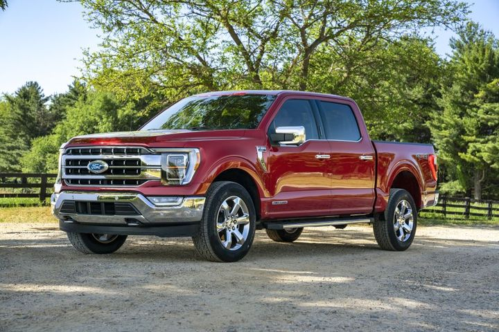 The 2021-MY Ford F-150 is among the current Ford safety-related recalls. - Photo: Ford