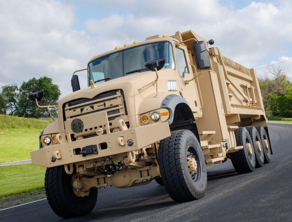 U.S. Army Orders Heavy Dump Trucks from Mack Defense