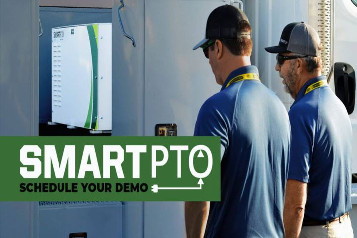 Viatec's SmartPTO allows bucket truck operators seeking an ePTO solution to begin their transition into using electricity as a fuel. - Photo:Viatec