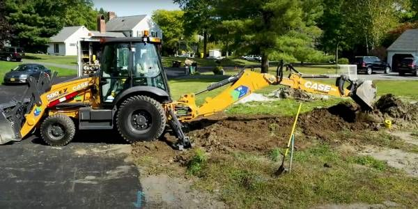 Case Delivers Electric Backhoe Loaders to Utilities in New York