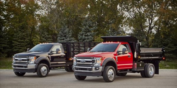 The Ford F-600 was named Work Truck;s Medium-Duty Truck of the Year for 2021.